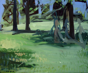 Cannibals 4 (Naked Trees) 100 x 120