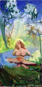woman outdoor 100 x 50