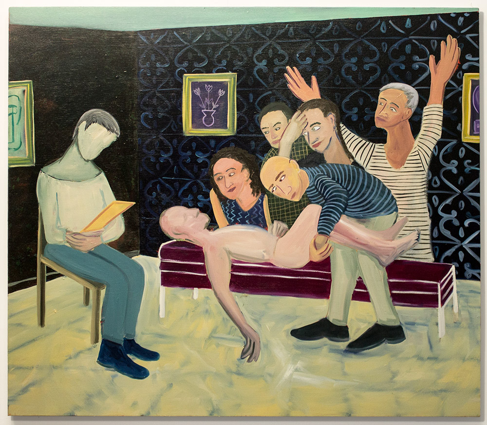 Ben-Ari-Guy-Talking-to-a-Psychoanalyst-2014